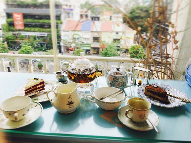 6 quán cà phê chung cư đẹp nhất ngắm phố đi bộ